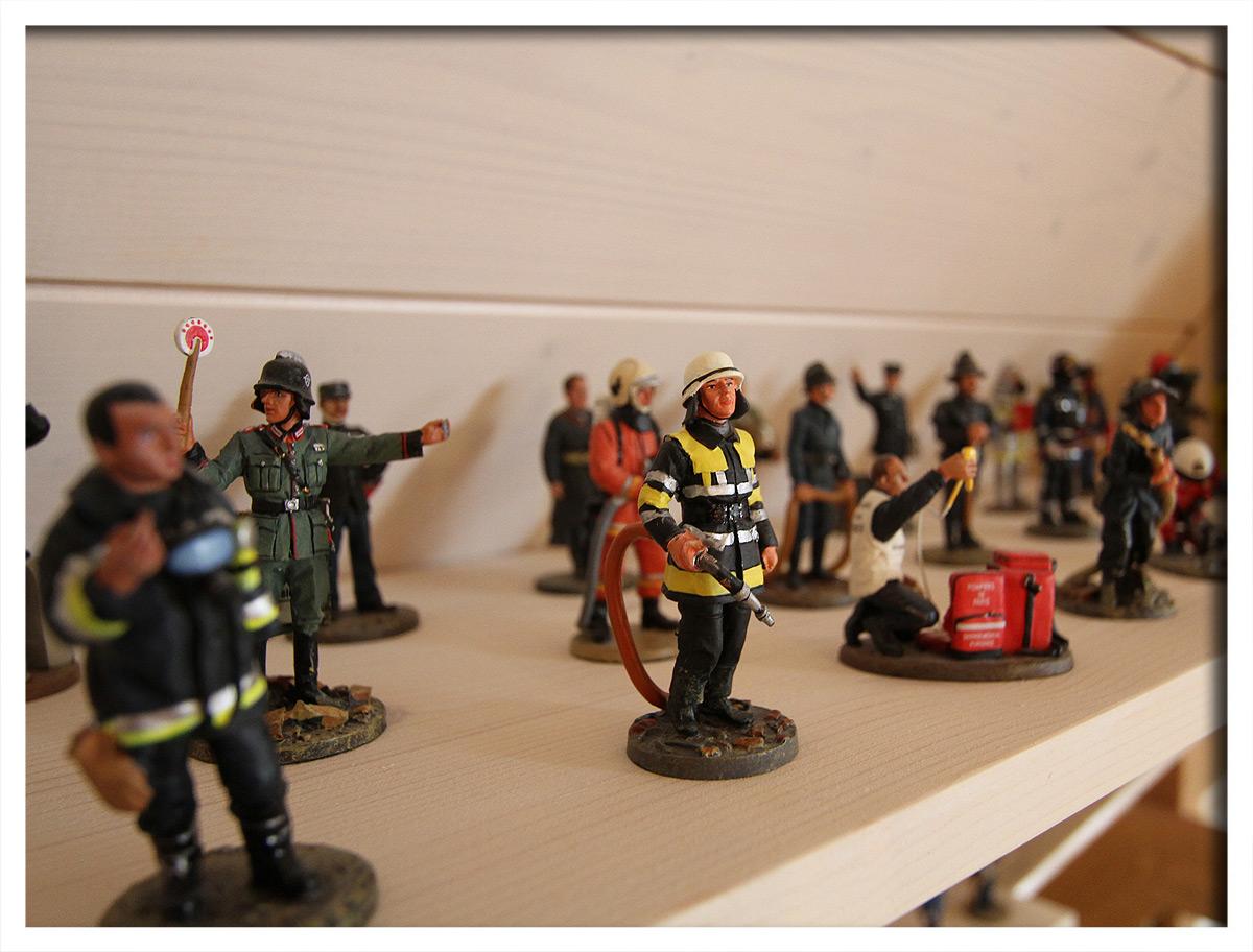 93 Feuerwehrmänner von DelPrado
