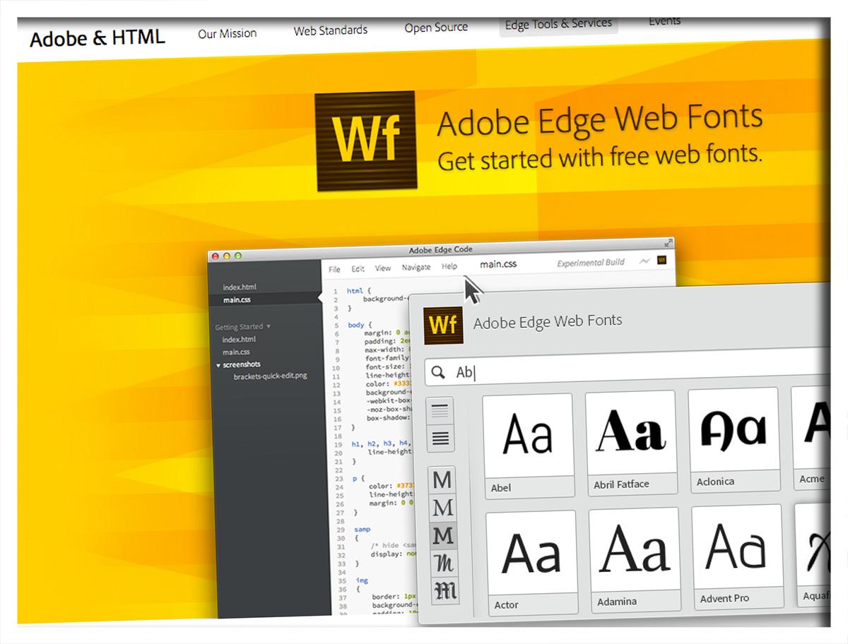 Adobe verschenkt Schriften