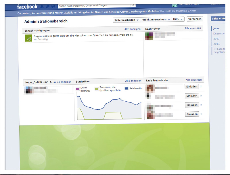 Seiten-Administrator bei Facebook ernennen