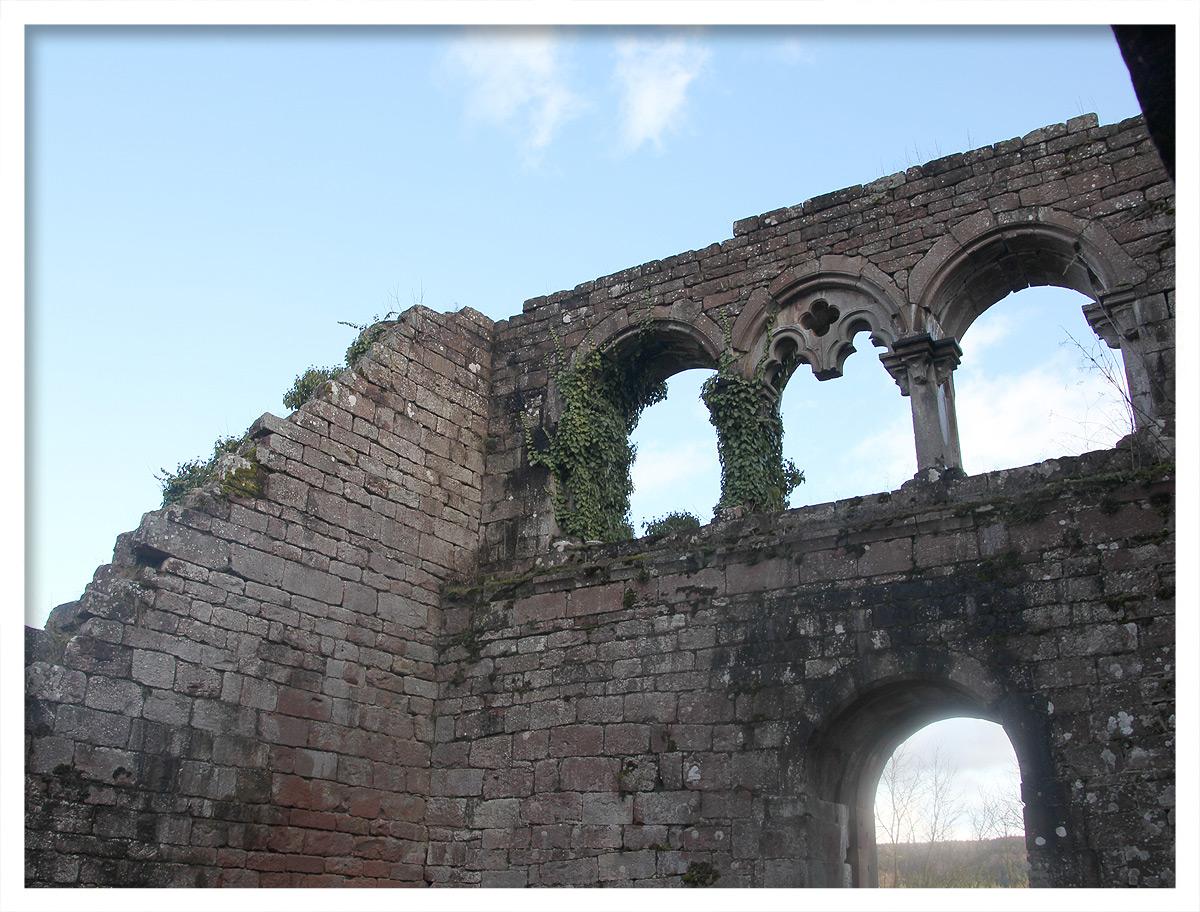 Die Reste des Pallas in der Wildenburg