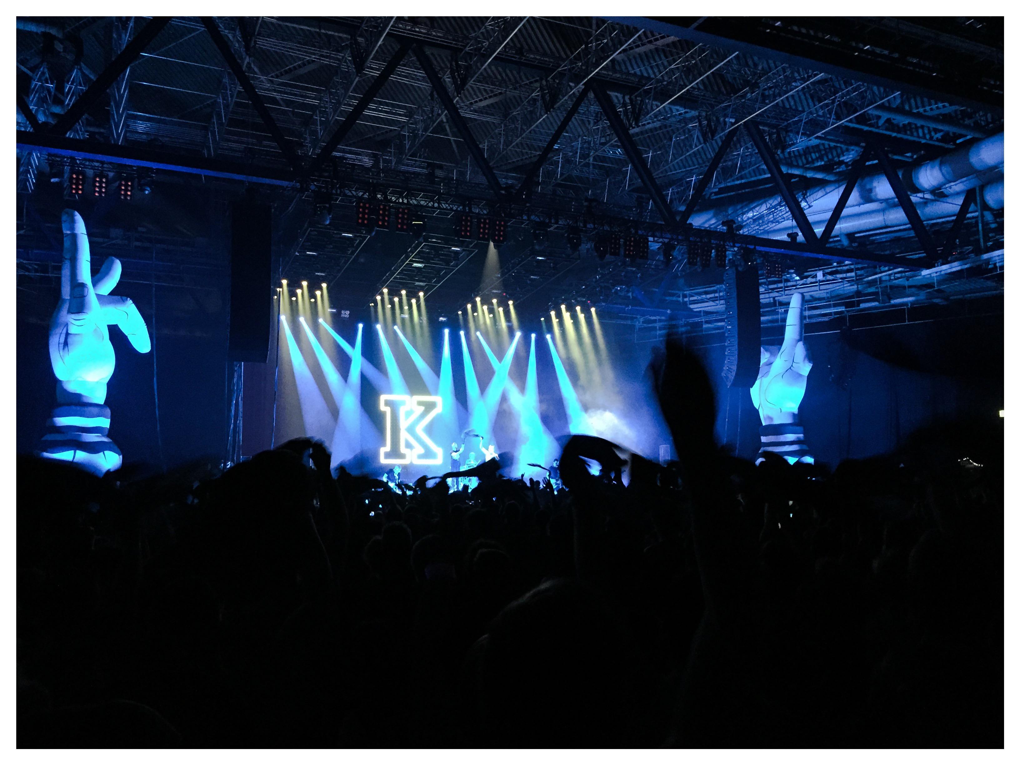 Kraftklub live in Stuttgart