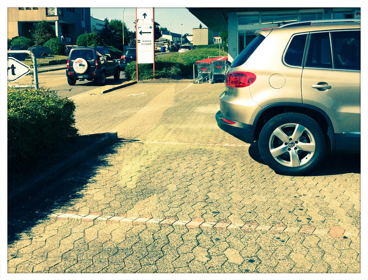 Jede(r) kann parken - oder auch nicht...