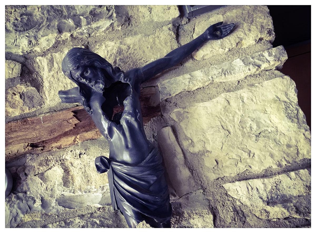 Jesus wurde von einem Fußballer aus Heidelberg erschossen