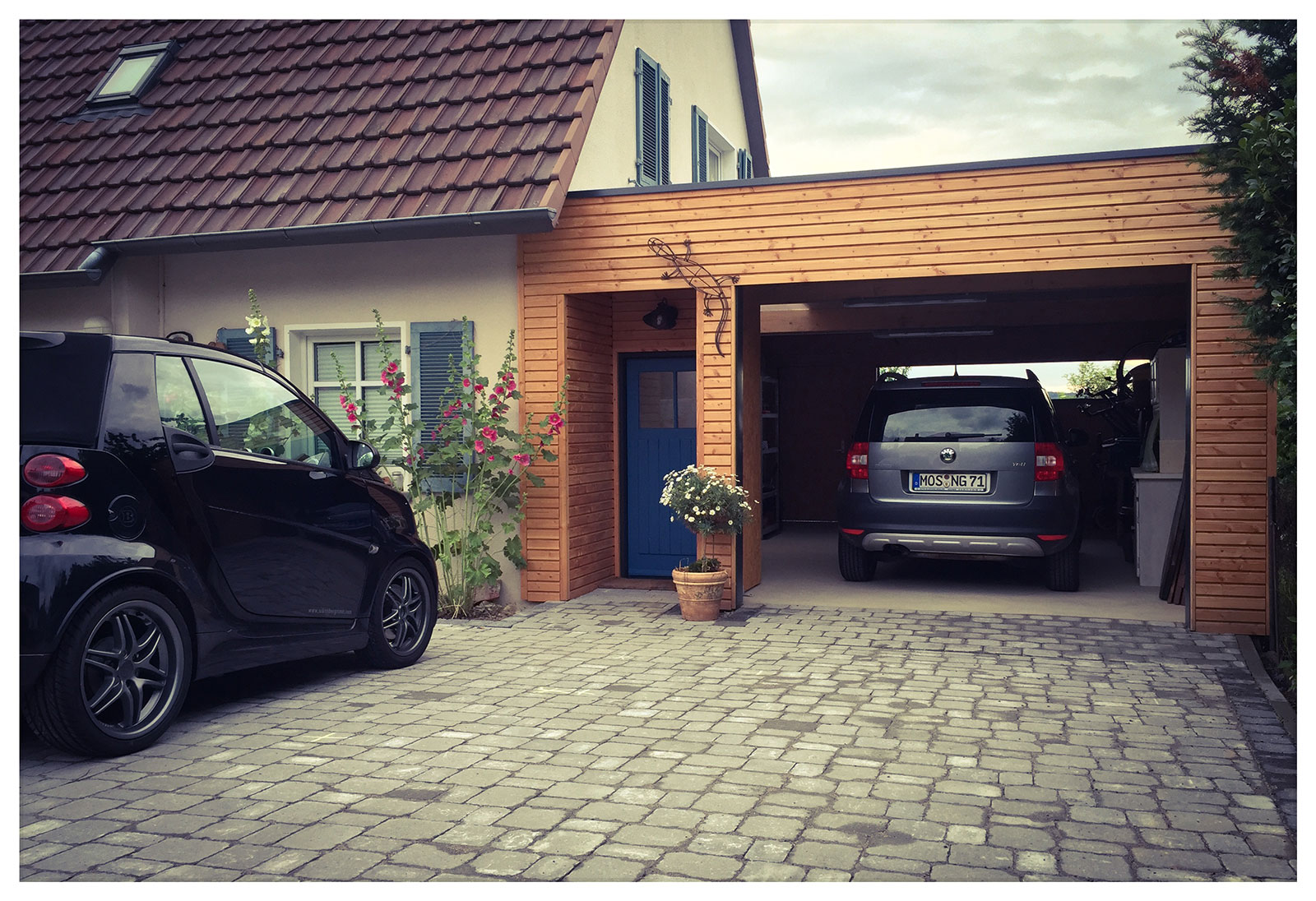 Jetzt mit 100% mehr Garage