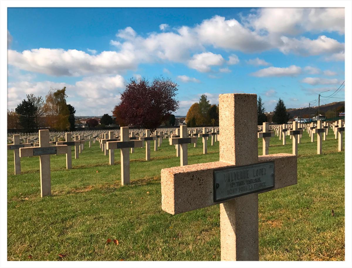 Friedhof der Gefallenen in Verdun