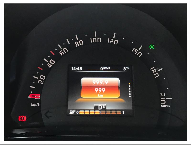 1000 km im Smart Brabus
