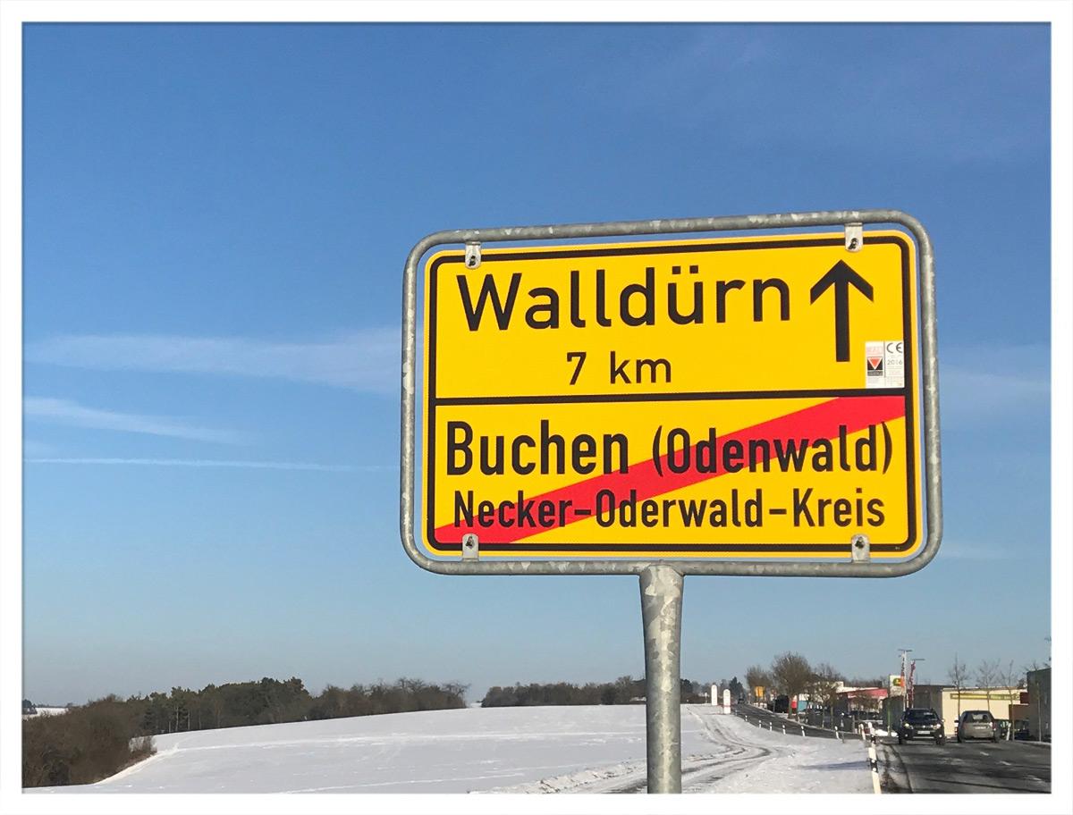 Sie verlassen Buchen im Necker-Oderwald-Kreis