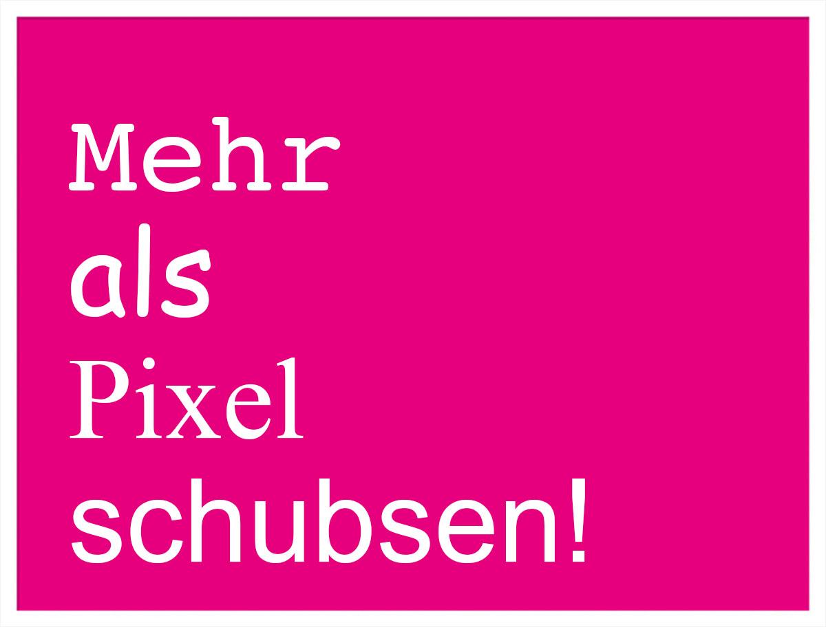 Mehr als Pixel schubsen - am Welt-Grafiker-Tag