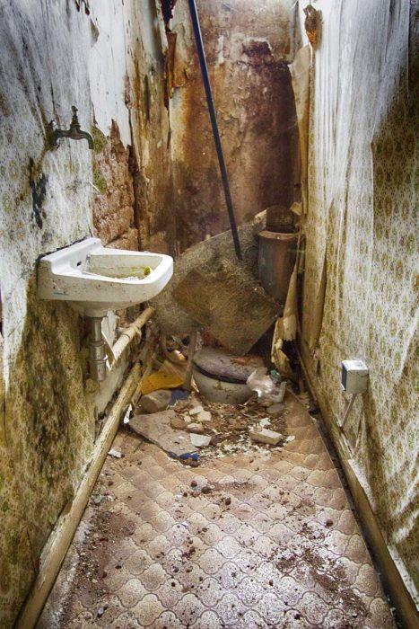 Wer findet die Toilette?