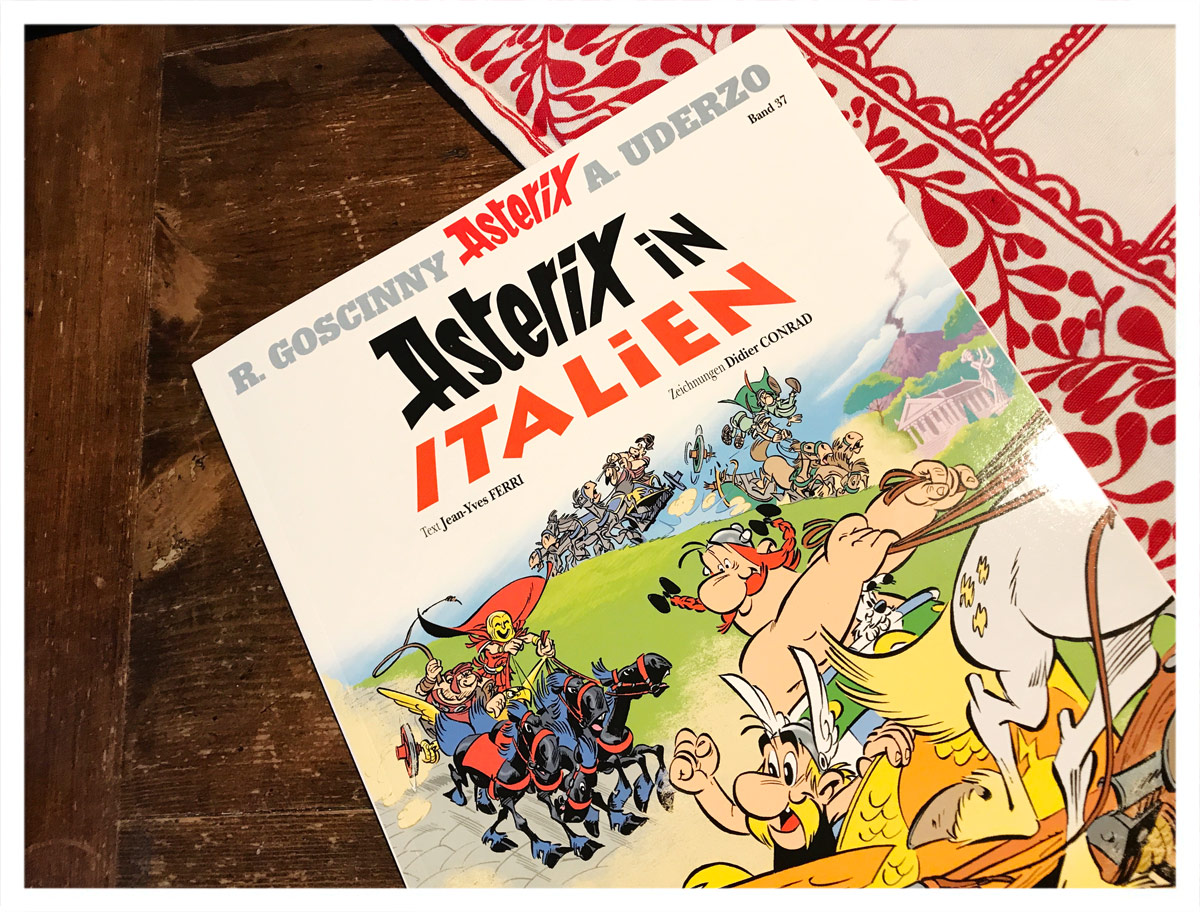 Cover von Asterix in Italien