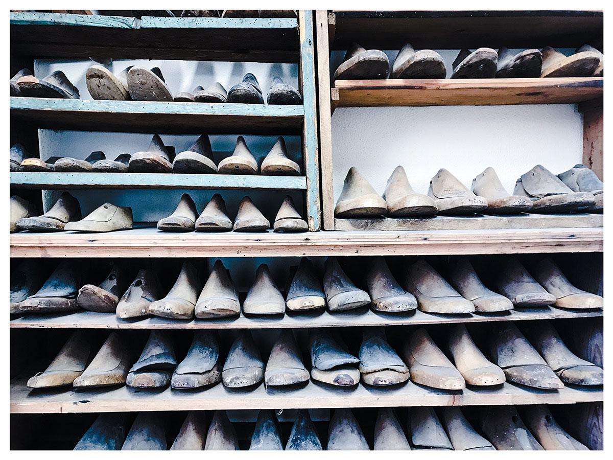 Schusterleisten im Dorfmuseum Wagenschwend