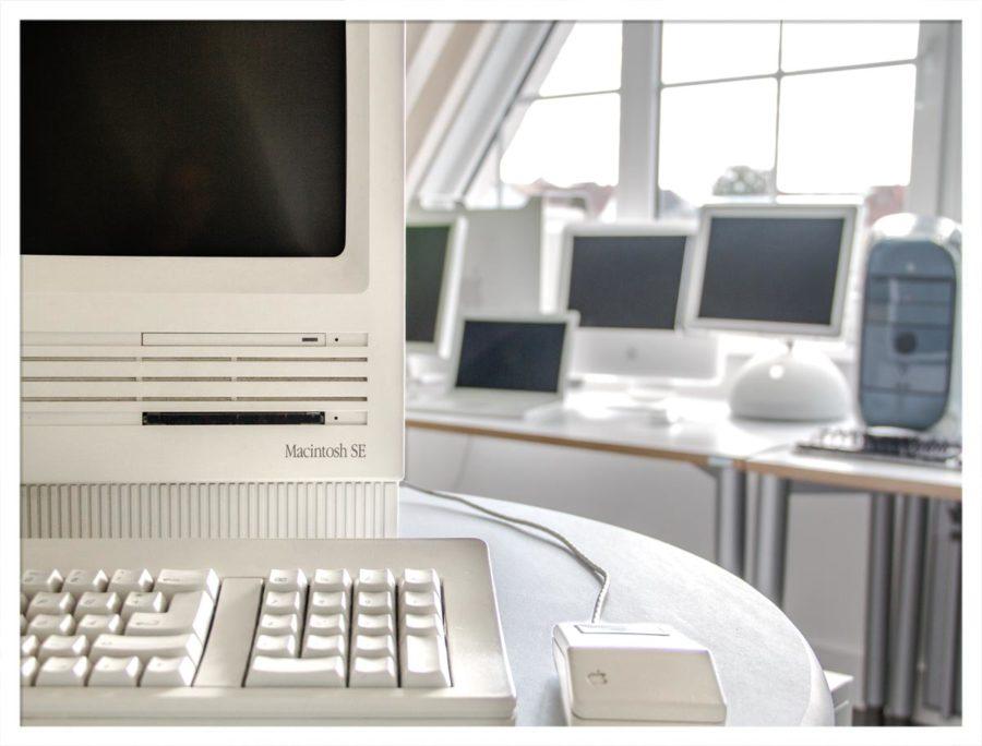 Der Macintosh SE in unserem Museum